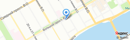 Нестле Россия на карте Санкт-Петербурга