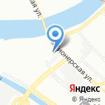 Вулкан на карте Санкт-Петербурга