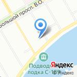 Санкт-Петербургский Православный Институт Религиоведения и Церковных Искусств на карте Санкт-Петербурга