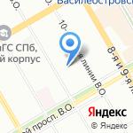 Abriel на карте Санкт-Петербурга
