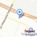 Largus на карте Санкт-Петербурга