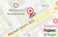 Схема проезда до компании Издательство Лань в Санкт-Петербурге