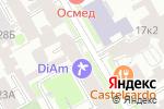 Схема проезда до компании Леон в Санкт-Петербурге