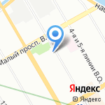 Монастырская выпечка на карте Санкт-Петербурга