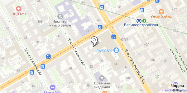 Абсолют сервис. Схема проезда в Санкт-Петербурге
