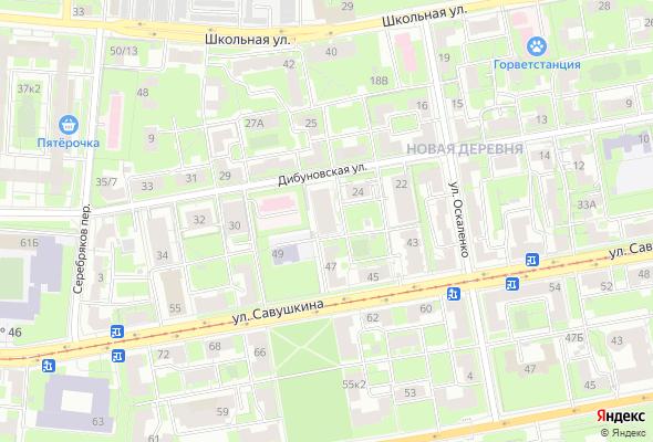 ЖК Дом-Мегалит на Дибуновской