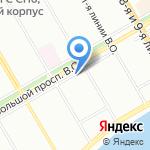 Место красоты на карте Санкт-Петербурга