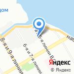 Страховая фирма на карте Санкт-Петербурга