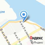 СулуС на карте Санкт-Петербурга