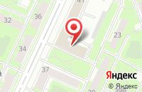 Схема проезда до компании Водакс в Санкт-Петербурге