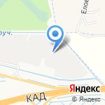 Гермес на карте Санкт-Петербурга