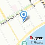 Транс-Сервис на карте Санкт-Петербурга