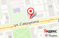 Схема проезда до компании ПроBEERка в Астрахани