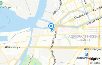 Местоположение на карте пункта техосмотра по адресу г Санкт-Петербург, пр-кт Рижский, д 37 литер т, пом 19Н