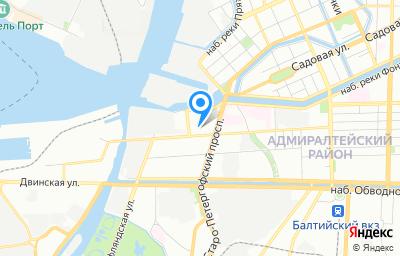 Местоположение на карте пункта техосмотра по адресу г Санкт-Петербург, пр-кт Рижский, д 37