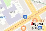Схема проезда до компании Скарлетт в Санкт-Петербурге