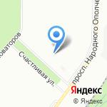 Центр для детей сирот на карте Санкт-Петербурга