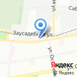 Центр технического творчества Приморского района Санкт-Петербурга на карте Санкт-Петербурга