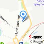 ЕЭС Энерго на карте Санкт-Петербурга