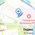 Радуга Ремёсел на карте Санкт-Петербурга