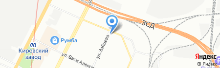 АвтоСпецТранс на карте Санкт-Петербурга