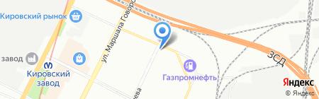 РосИнвест на карте Санкт-Петербурга