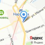 Платина Кострома на карте Санкт-Петербурга