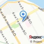 Квест спот на карте Санкт-Петербурга