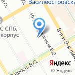 АМА на карте Санкт-Петербурга