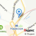 Алиот СПб на карте Санкт-Петербурга