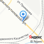 Магазин трикотажа на карте Санкт-Петербурга