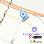 НК Северо-Запад на карте Санкт-Петербурга