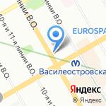 Фермаг на карте Санкт-Петербурга