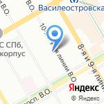 Brand service на карте Санкт-Петербурга