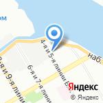 Межрайонный регистрационно-экзаменационный отдел ГИБДД №6 на карте Санкт-Петербурга