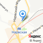 Союзпечать на карте Санкт-Петербурга