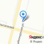 Захарья на карте Санкт-Петербурга