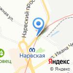 Киоск по продаже кофе с собой на карте Санкт-Петербурга