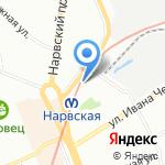 Инвалиды войны на карте Санкт-Петербурга
