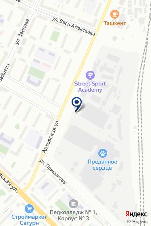 АВТОВСКАЯ СТРОИТЕЛЬНАЯ КОМПАНИЯ на карте Санкт-Петербурга