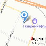 Фестлайн на карте Санкт-Петербурга