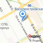 NewTonе на карте Санкт-Петербурга