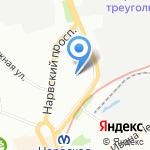 Элвис Инжиниринг на карте Санкт-Петербурга