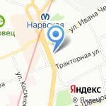 5цветов на карте Санкт-Петербурга