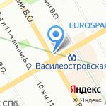 Игма на карте Санкт-Петербурга