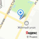 Экосфера на карте Санкт-Петербурга