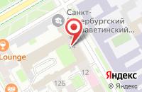 Схема проезда до компании Альфа-Принт в Санкт-Петербурге