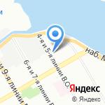 Остео на карте Санкт-Петербурга