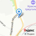Государственная бюджетная общеобразовательная школа-интернат №2 на карте Санкт-Петербурга