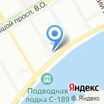 Международное строительное объединение на карте Санкт-Петербурга